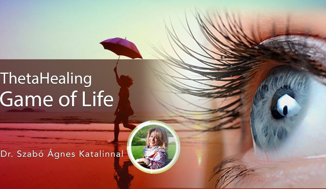 Game of Life. Az Élet Játéka TheatHealing tanfolyam, Dr. Szabó Ágnes Katalinnal, 2021.11.29-2021.12.01. (offline)
